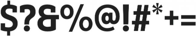 Yorkten Slab Cond ExBold otf (700) Font OTHER CHARS