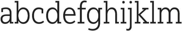 Yorkten Slab Cond Light otf (300) Font LOWERCASE