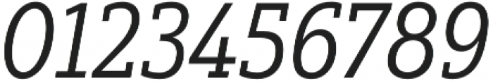 Yorkten Slab Cond Regular Ital otf (400) Font OTHER CHARS