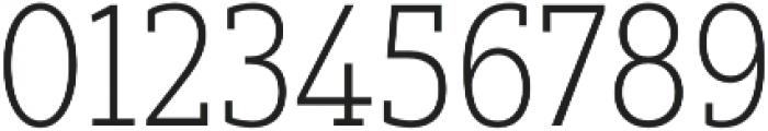 Yorkten Slab Cond Thin otf (100) Font OTHER CHARS