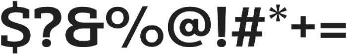 Yorkten Slab Ext Bold otf (700) Font OTHER CHARS