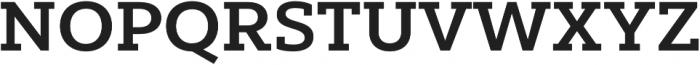 Yorkten Slab Ext Bold otf (700) Font UPPERCASE