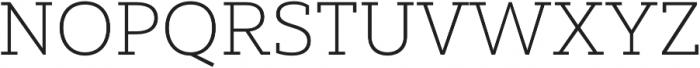 Yorkten Slab Ext Thin otf (100) Font UPPERCASE