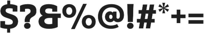 Yorkten Slab Norm Black otf (900) Font OTHER CHARS