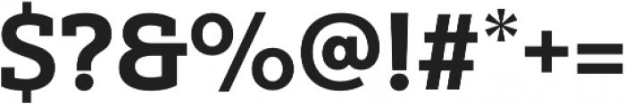 Yorkten Slab Norm ExBold otf (700) Font OTHER CHARS