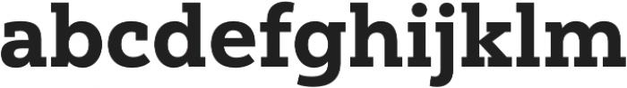 Yorkten Slab Norm ExBold otf (700) Font LOWERCASE