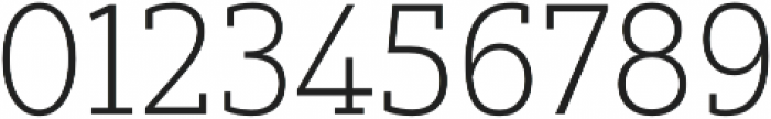 Yorkten Slab Norm Thin otf (100) Font OTHER CHARS