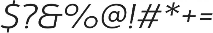 Yorkten otf (300) Font OTHER CHARS