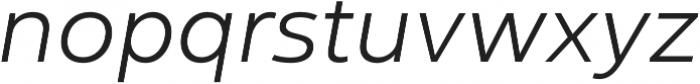 Yorkten otf (300) Font LOWERCASE