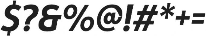 Yorkten otf (700) Font OTHER CHARS