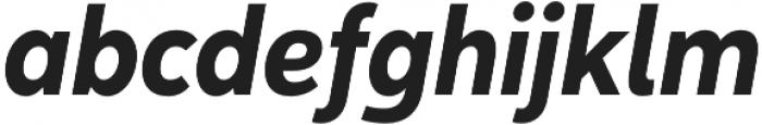 Yorkten otf (700) Font LOWERCASE