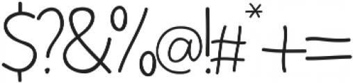Yoshi otf (400) Font OTHER CHARS