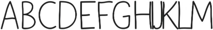 Yoshi otf (400) Font UPPERCASE