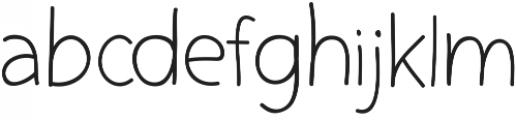 Yoshi otf (400) Font LOWERCASE