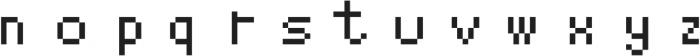 YoungDantes ttf (400) Font LOWERCASE