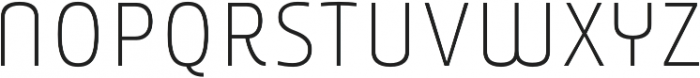 Younion FY Thin ONE otf (100) Font LOWERCASE