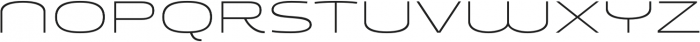 Younion FY Thin TWO otf (100) Font UPPERCASE