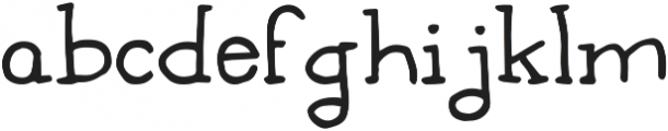 You're my type ttf (400) Font LOWERCASE