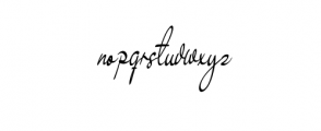 Yollanyta Font LOWERCASE