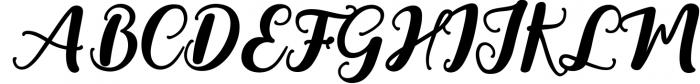 Youth Script Font Font UPPERCASE