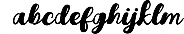 Youth Script Font Font LOWERCASE