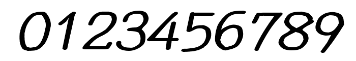 YOzFontCP04 Bold Italic Font OTHER CHARS