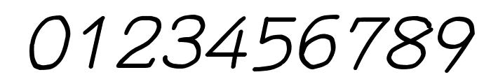 YOzFontNP97 Italic Font OTHER CHARS
