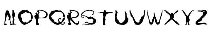 Yoga Font UPPERCASE