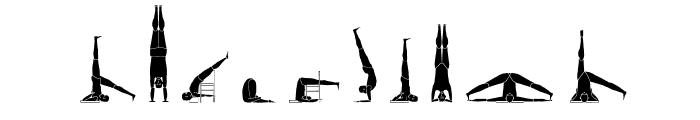 Yogafont Font OTHER CHARS