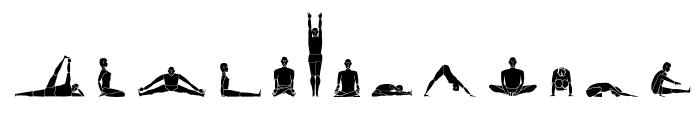 Yogafont Font LOWERCASE