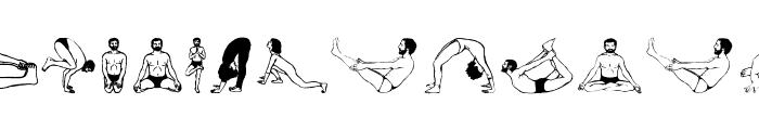 Yogaism Font LOWERCASE