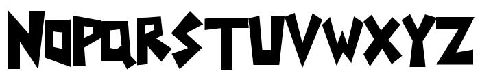 Yoinks Font UPPERCASE