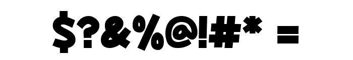 Yokelvision Font OTHER CHARS