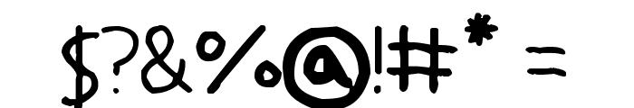 Yokomizo Font OTHER CHARS