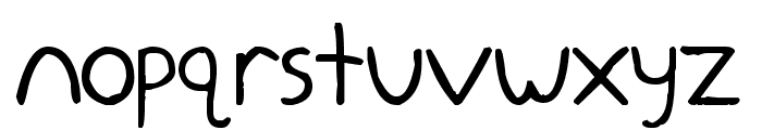 Yokomizo Font LOWERCASE