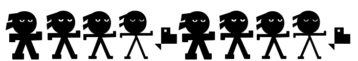 YonkyBlack Font OTHER CHARS