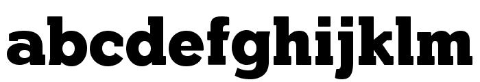 YonkyBlack Font LOWERCASE