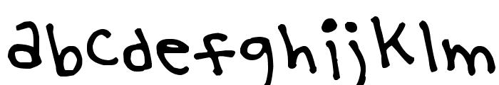 Yoo Hae Mool Font LOWERCASE