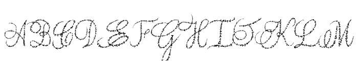 Yore script Font UPPERCASE