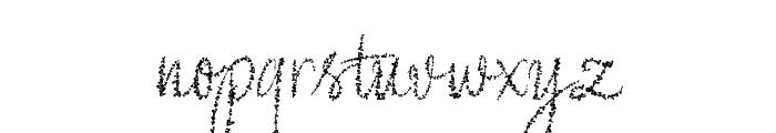 Yore script Font LOWERCASE
