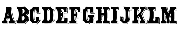 Yorktown Font UPPERCASE