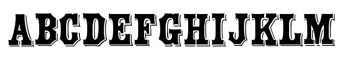 Yorktown Font LOWERCASE