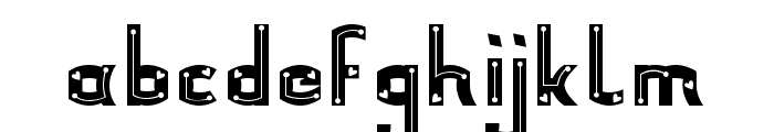 Yorle Personal use Decorative Font LOWERCASE