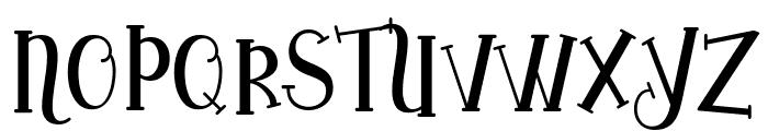 Yoshephin Font UPPERCASE