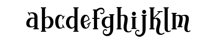 Yoshephin Font LOWERCASE