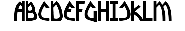 Yoshitoshi Bold Font UPPERCASE