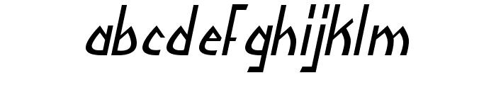 Yoshitoshi Italic Font LOWERCASE