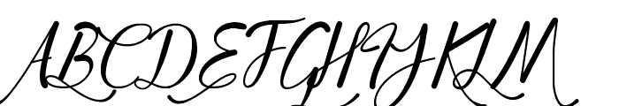 Young & Beautiful Font UPPERCASE