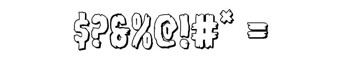 Young Frankenstein 3D Regular Font OTHER CHARS