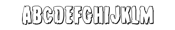 Young Frankenstein 3D Regular Font LOWERCASE